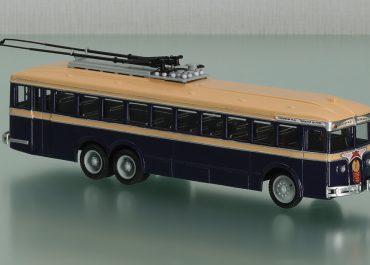ЛК-2 — «НАТИ», ЛК-3 № 10 1-дверный троллейбус