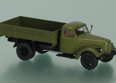 ЗиЛ-166А/166В газобалонный бортовой автомобиль
