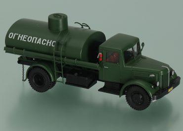АЦ-8-200 автоцистерна на шасси МАЗ-200