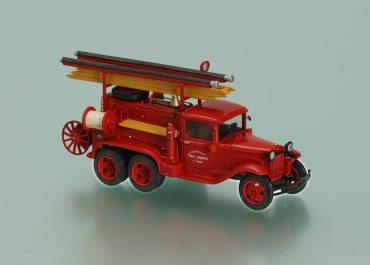 Пожарный автонасос повышенной проходимости на шасси ГАЗ-ААА