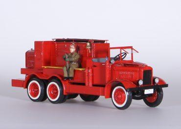 Пожарный автонасос НАТИ для «Азнефти» на шасси ЯГ-10