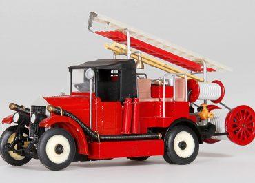 Пожарный автонасос «Подстволовой» на шасси АМО Ф-15
