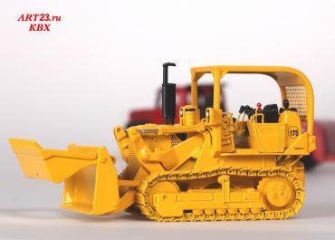 International Harvester IH 175 Series C frontal crawler hydraulic Loader