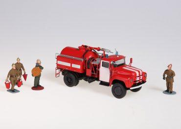 АП-2 (130) мод. 148 пожарный автомобиль порошкового тушения на шасси ЗиЛ-130