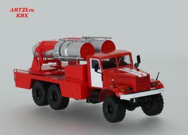 АГВТ-200 пожарный автомобиль газоводяного тушения на шасси КрАЗ-255Б