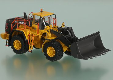 Volvo L350H frontal wheel hydraulic Loader
