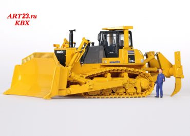 Komatsu D375A-5 Galeo crawler hydraulic bulldozer with SU-Blade