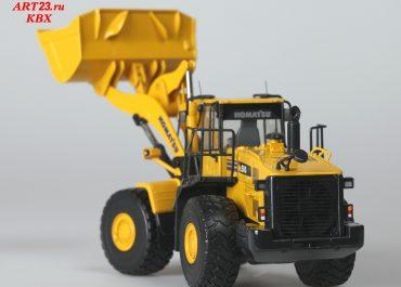 Komatsu WA500-6 frontal wheel hydraulic Loader