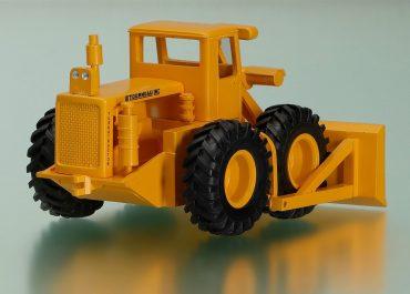 LeTourneau Westinghouse Model C Tournadozer wheel cable bulldozer