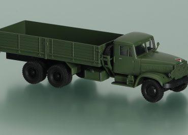 КрАЗ-257 бортовой грузовик для перевозки тяжёлых длинномерных грузов