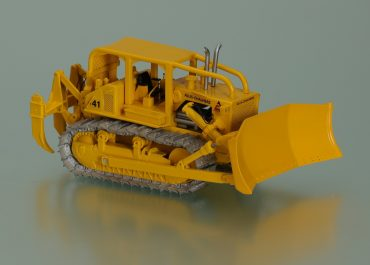 Allis Chalmers HD 41 crawler hydraulic bulldozer ROPS