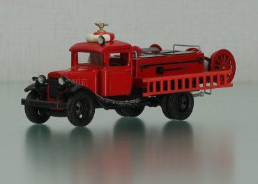 ПМГ-2 на шасси ГАЗ-АА бортовой пожарный автомобиль