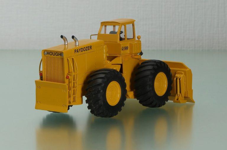 International-Hough D-500 Paydozer wheel bulldozer