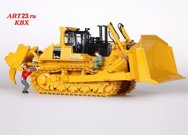 Komatsu D475A-5EO mining crawler hydraulic bulldozer with U-blade