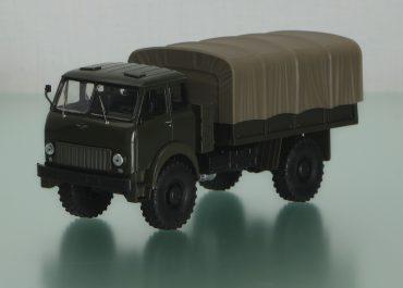 МАЗ-505А опытный армейский бортовой автомобиль