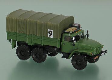Урал-43202-01 №9 гос. № 15-60 ЧБТ грузовой автомобиль сопровождения автопробега 1994 года Overland Challenge