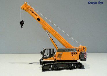 Sennebogen 683 HD telescopic crane