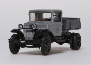 ГАЗ-С1/ГАЗ-410 ручной самосвал на шасси ГАЗ-АА/ММ