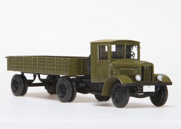 Я-НАТИ-12Д опытный седельный тягач с полуприцепом Lapeer-Houlmore