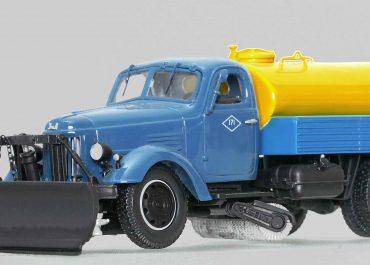 КПМ-2 комбинированная поливомоечная машина на шасси ЗиЛ-164А