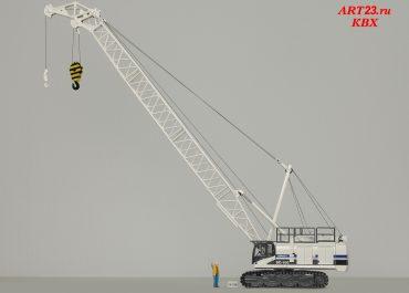 Soilmec SC-100 crawler cranes