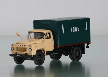 ГЗСА-3704 автомобиль-фургон для перевозки хлеба на шасси ГАЗ-52-01