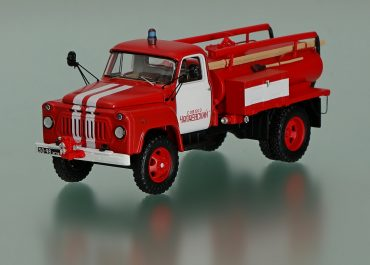 АЦУ-10(52) пожарная автоцистерна на шасси ГАЗ-52-04