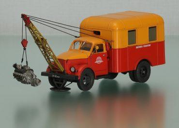 ГОСНИТИ-1 передвижная ремонтная мастерская на шасси ГАЗ-51А