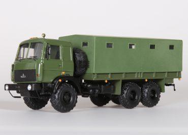 МАЗ-6317 опытный, бортовой автомобиль повышенной проходимости