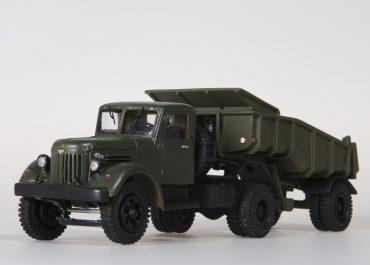 МАЗ-200В/200Р седельный тягач с самосвальным полуприцепом МАЗ-5232В