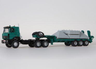 МАЗ-642505/642508 седельный тягач с полуприцепом МАЗ-937900