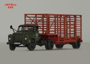 ГАЗ-52-06 седельный тягач, с полуприцепом — таровозом У-44 на базе ЦКТБ- А402