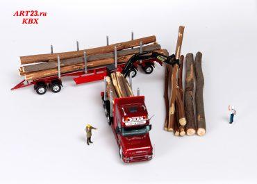 Scania T164L «Vast Skog AB» Log Carrier