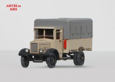 Я-5 №23 бортовой грузовик в дизель-пробеге Москва — Тифлис — Москва