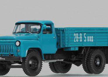 ГАЗ-53Ф бортовой грузовик