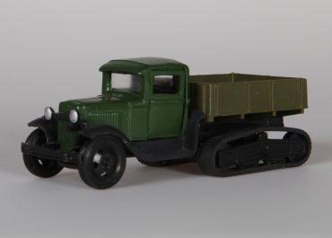 ГАЗ-60 полугусеничный автомобиль-вездеход на шасси ГАЗ-АА/ММ