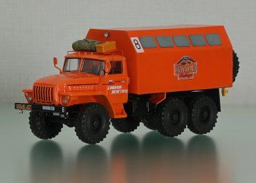 АРМ-4 №8 гос. №43-13 ЧБФ авторемонтная мастерская сопровождения автопробега 1994 года Overland Challenge на шасси Урал-43203