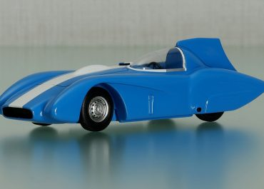 ЗиЛ-112С спортивный автомобиль с рекордно-гоночным кузовом на шасси №1 для установления рекорда скорости