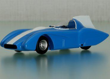 ЗиЛ-112С  автомобиль с рекордно-гоночным кузовом на шасси №2 для установления рекорда скорости
