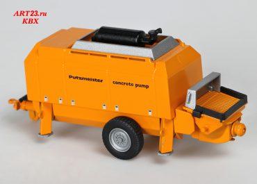 Putzmeister BSA 14000 НР-D High Pressure Trailer Pumps