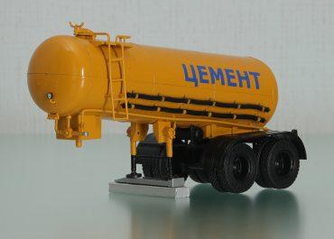 ТЦ-11 полуприцеп-цементовоз с пневматической разгрузкой для перевозки пылевидных грузов