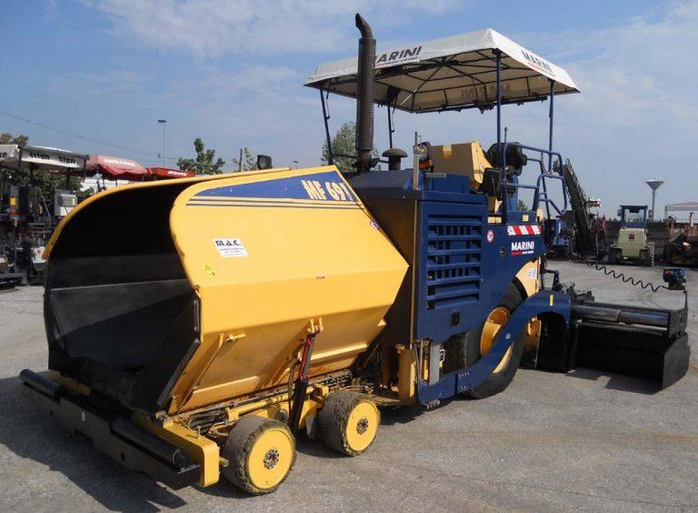 BOMAG Marini MF691 road wheel Asphalt Paver