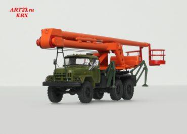 МШТС-2А 2-коленчатый автогидроподъёмник на шасси ЗиЛ-131