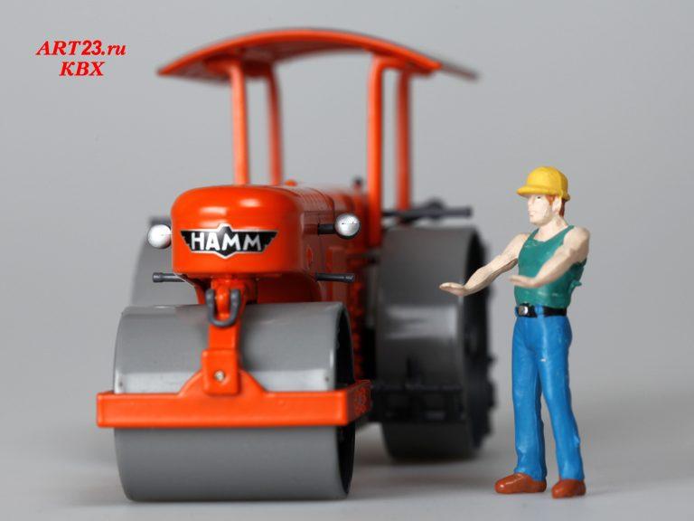 Hamm DL10 road roller