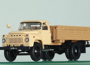 ГАЗ-53А среднетоннажный бортовой грузовик с деревянной платформой