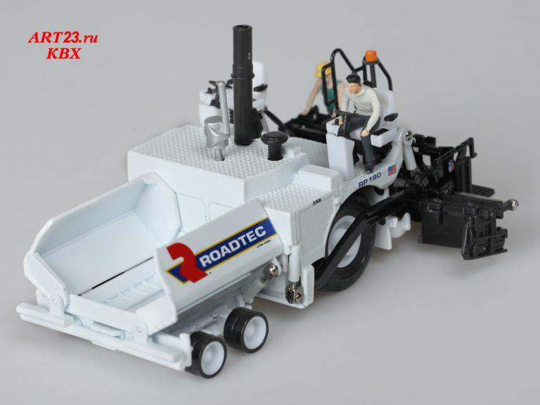 Roadtec RP 190 road wheel Asphalt Paver