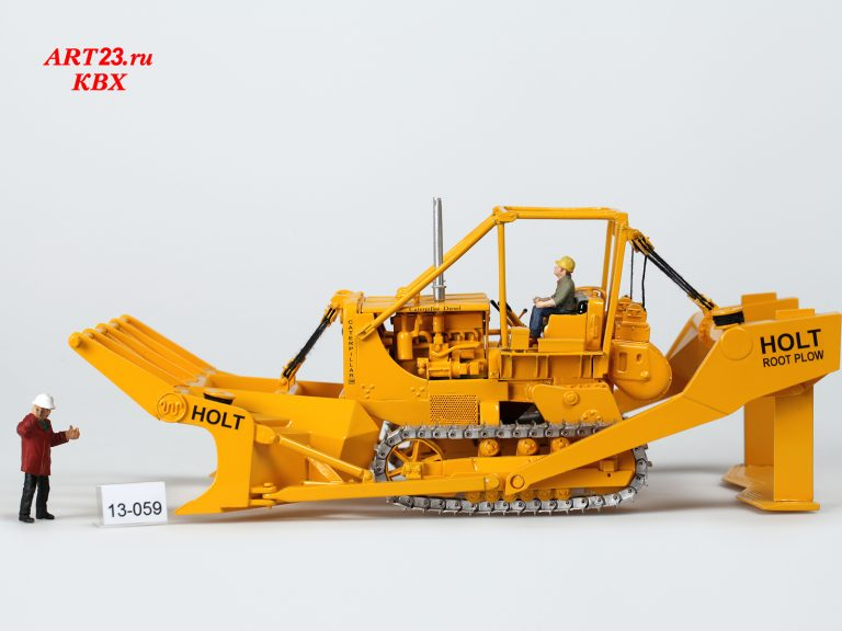 Peterson Twin D8 tractor Holt land clearing blade on the basis of Caterpillar Diesel D8 -2U