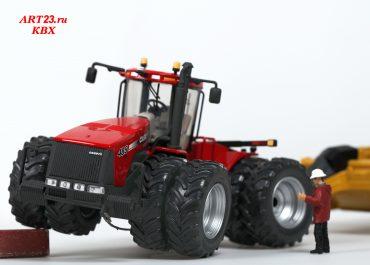 Case IH Steiger 485HD Scraper Version Dual-Wheeled Tractor