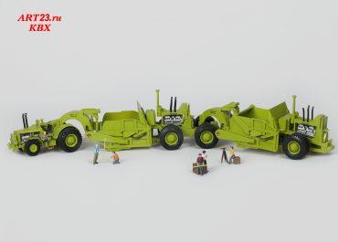 Euclid TTSS-40, 53LDT-65SH-66SH, Scraper