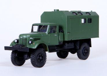 МАЗ-502А армейский автомобиль с КУНГом, Кузов Универсальный Нулевого Габарита, типа СН